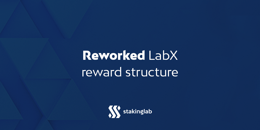 Reworked LabX reward structure