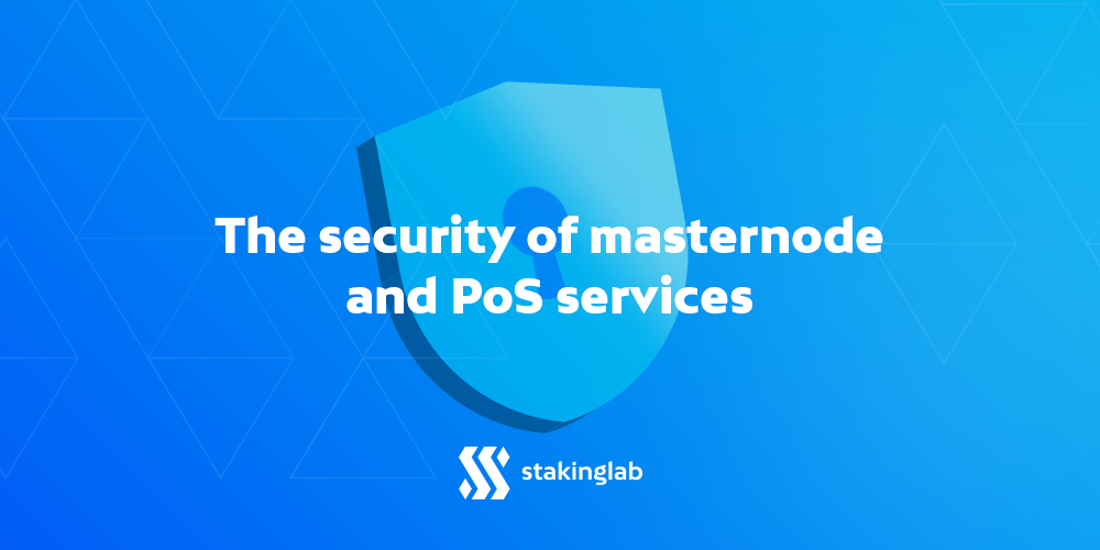 Many masternode and PoS services are getting hacked